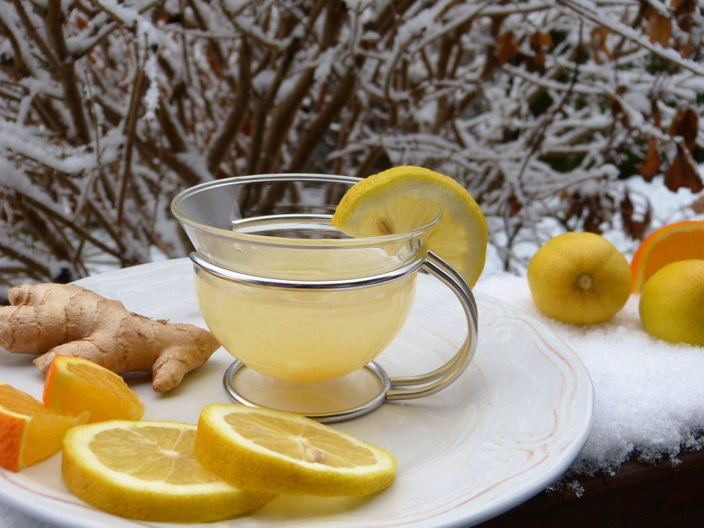 Čaj od đumbira i limuna za mršavljenje