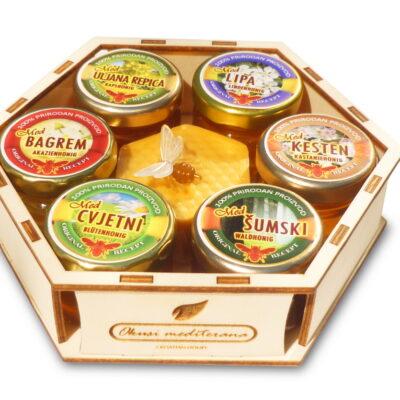 Poklon paket Med i sapun