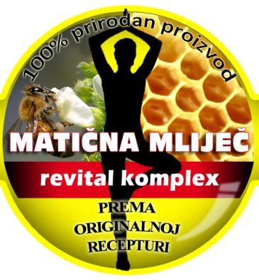 Revital Komplex 250 g s matičnom mliječi